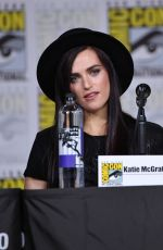 KATIE MCGRATH at Supergirl Panel at Comic-con in San Diego 07/21/2018