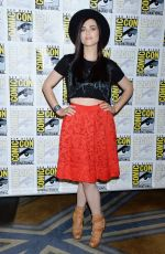 KATIE MCGRATH at Supergirl Press Line At Comic-con in San Diego 07/21/2018