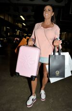 KATIE PRICE and Kris Boyson Shopping at Harvey Nichols and Selfridges in Manchester 07/28/2018
