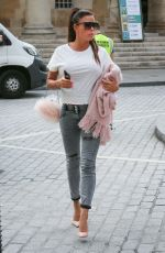 KATIE PRICE Arrives at BBC Studios in London 07/19/2018