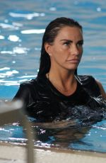 KATIE PRICE at a Local Swimming Pool 06/29/2018