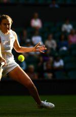KATY DUNNE at Wimbledon Tennis Championships in London 07/03/2018