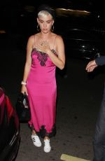 KATY PERRY Arrives at Annabel