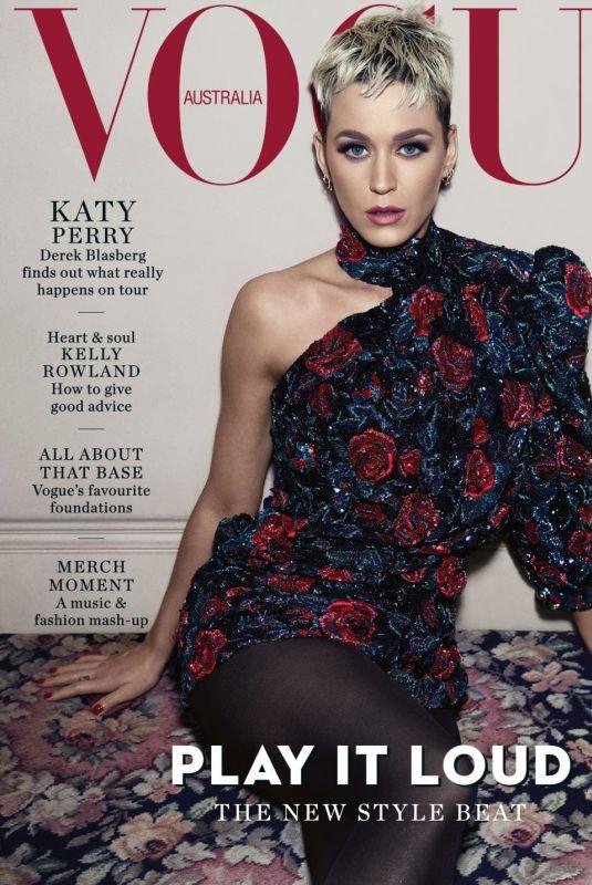 KATY PERRY in Vogue Magazine, Australia August 2018