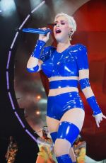 KATY PERRY Performs at a Concert in Adelaide 07/28/2018
