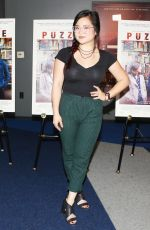 KELLY MARIE TRAN at Puzzle Premiere at Writers Guild Theater in Los Angeles 07/16/2018