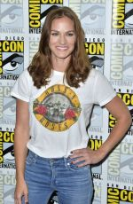 KELLY OVERTON at Van Helsing Panel at Comic-con in San Diego 07/19/2018