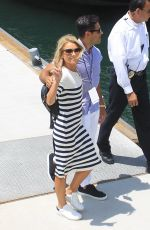 KELLY RIPA and Mark Consuelos at Comic-con in San Diego 07/21/2018