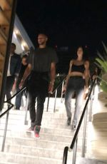 KENDALL JENNER and Ben Simmons Leaving a Mexican Restaurant in West Hollywood 07/07/2018