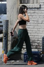 KENDALL JENNER and Ben Simmons Out for Breakfast in Beverly Hills 07/27/2018