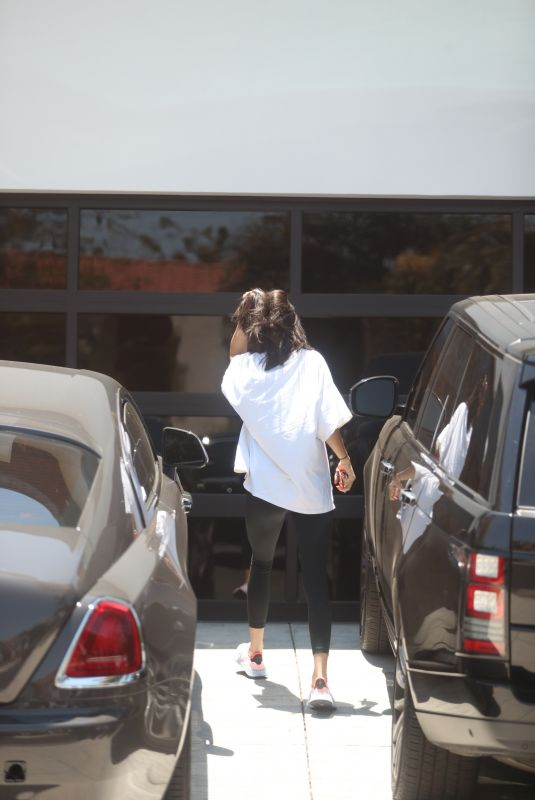 KENDALL JENNER Arrives at Ben Simmons House in Los Angeles 07/06/2018