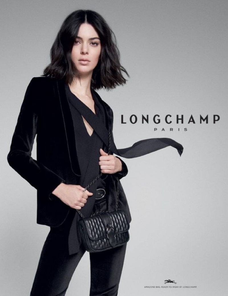 JENNER KENDALL 201819 Campaign Longchamp for FallWinter fwxqHdv