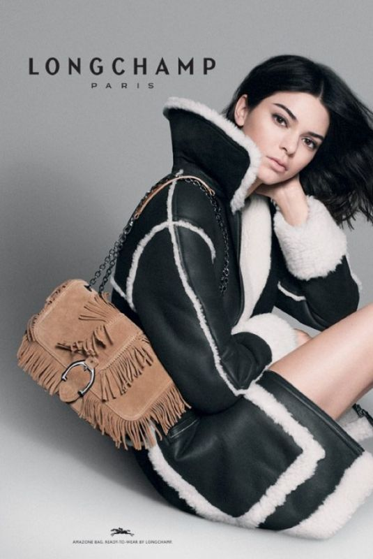 KENDALL JENNER for Longchamp Fall/Winter 2018/19 Campaign