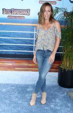 KENDRA WILKINSON at Hotel Transylvania 3: Summer Vacation Premiere in Los Angeles 06/30/2018
