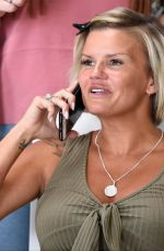KERRY KATONA at a Furniture Shop in Warrington 07/19/2018
