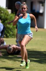 KERRY KATONA at Holistic Body Camp in Marbella 07/10/2018