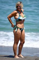 KERRY KATONA in Bikini on the Beach in Marbella 07/10/2018
