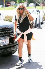 KHLOE KARDASHIAN Leaves a Studio in Los Angeles 07/16/2018