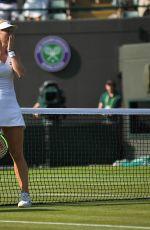 KIKI BERTENS at Wimbledon Tennis Championships in London 07/06/2018