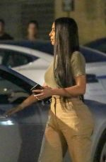 KIM KARDASHIAN Night Out in Malibu 07/06/2018