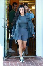KIM KARDASHIAN Shopping at Barneys New York in Beverly Hills 07/01/2018
