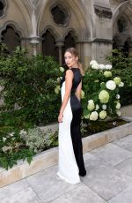 KIMBERLEY GARNER at American Cathedral Church of the Holy Trinity for Haute Couture Paris Fashion Week 07/07/2018
