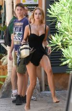KIMBERLEY GARNER Out Shopping in St Tropez 07/26/2018