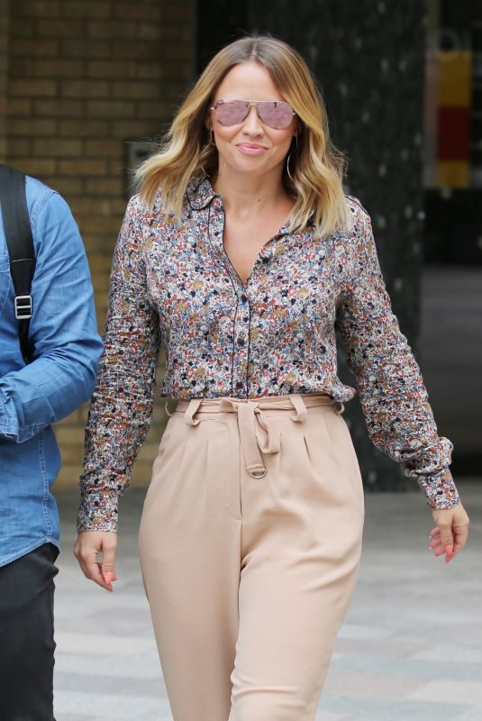 KIMBERLEY WALSH Leaves ITV Studios in London 07/17/2018