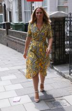 KIMBERLEY WALSH Out and About in London 07/14/2018