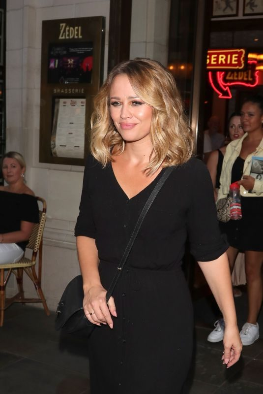 KIMBERLEY WALSH Out and About in London 07/23/2018