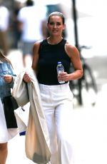 KIRSTY GALLACHER Out at Kings Cross in London 07/23/2018