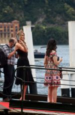 KITTY SPENCER at Concordia Steamer Boat at Dolce and Gabbana Fashion Event in Lake Como 07/05/2018