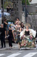 KITTY SPENCER at Dolce and Gabbanna Fashion Show at Lake Como 07/07/2018