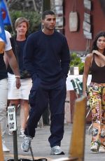 KOURTNEY KARDASHIAN and Younes Bendjima Out in Portofino 07/04/2018