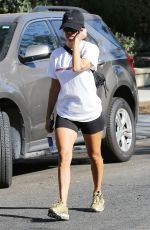 KOURTNEY KARDASHIAN at Anastasia Salon in Beverly Hills 07/12/2018