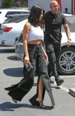 KOURTNEY KARDASHIAN at Bowling Alley in Woodland Hills 07/17/2018