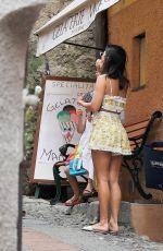 KOURTNEY KARDASHIAN Out for Ice Cream in Portofino 07/05/2018