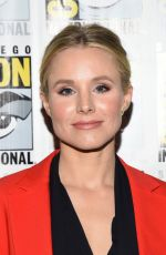 KRISTEN BELL at The Good Place Press Line at Comic-con in San Diego 07/21/2018