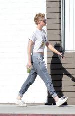 KRISTEN STEWART Leaves a Gym in Los Angeles 06/30/2018