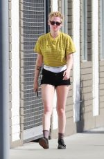 KRISTEN STEWART Leaves a Spa in Los Angeles 07/07/2018