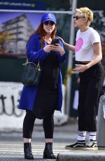 KRISTEN STEWART Out and About in New York 07/12/2018