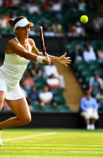 KRISTINA MLADENOVIC at Wimbledon Tennis Championships in London 07/04/2018