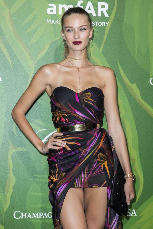 KRISTINA ROMANOVA at Amfar Paris Dinner at Paris Fashion Week 07/05/2018