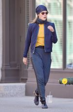 KRYSTEN RITTER and RACHEL TAYLOR on the Set of Jessica Jones 3 in New York 07/10/2018
