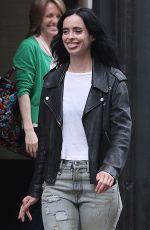 KRYSTEN RITTER on the Set of Jessica Jones in New York 07/06/2018
