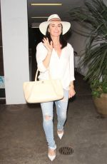 KYLE RICHARDS Leaves Vibrato Grill & Jazz Restaurant in Bel Air 06/29/2018