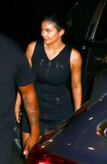 KYLIE JENNER and Travis Scott Night Out in New York 07/18/2018