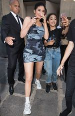 KYLIE JENNER Leaves Her Hotel in Paris 07/21/2018