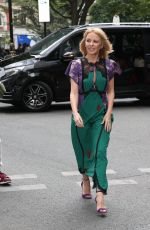 KYLIE MINOGUE Arribes at BBC Radio in London 07/11/2018