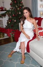 LACEY CHABERT at Home & Family Celebrates Christmas in July in Universal City 07/18/2018